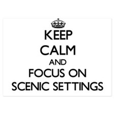 Keep Calm and focus on Scenic Settings Invitations