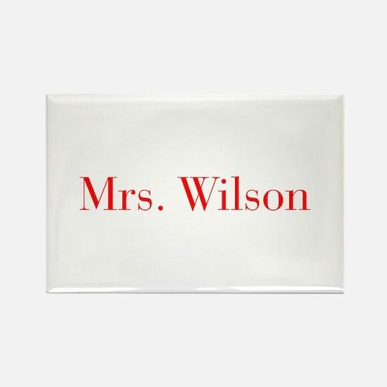 Mrs Wilson-bod red Magnets