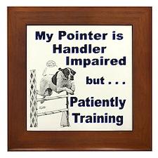 Pointer Agility Framed Tile