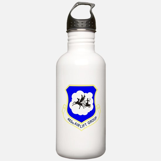 463rd Airlift Group.pn Water Bottle