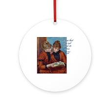 Renoir-Readers Ornament (Round)