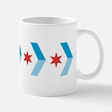 Chicago Flag Chevron Arrows Mug