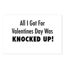 Valentines Postcards (Package of 8)