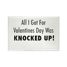 Valentines Rectangle Magnet (10 pack)