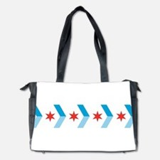 Chicago Flag Chevron Arrows Diaper Bag
