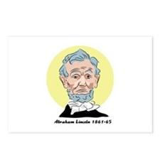 Abraham Lincoln - Postcards (Pack of 8)