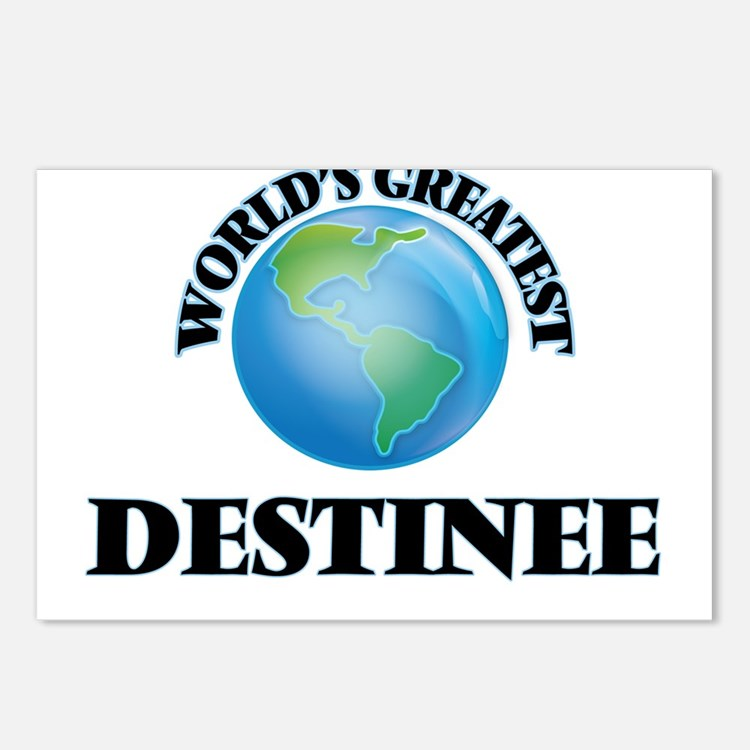 World's Greatest Destinee Postcards (Package of 8)