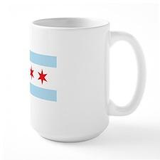 Chicago Flag White Background Mug