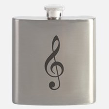Treble Clef Flask