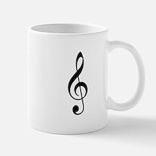 Treble Clef Mugs