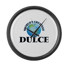 World's Greatest Dulce Large Wall Clock