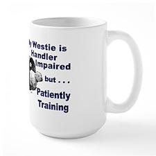 Westie Agility Mug