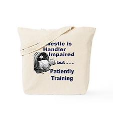 Westie Agility Tote Bag