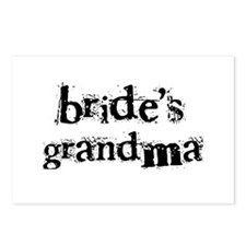 Bride's Grandma Postcards (Package of 8)