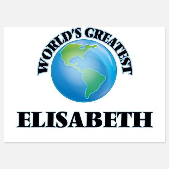 World's Greatest Elisabeth Invitations