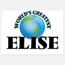 World's Greatest Elise Invitations