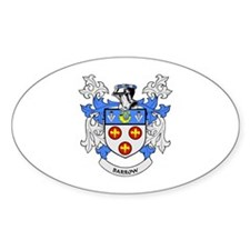 BARROW Coat of Arms Oval Decal