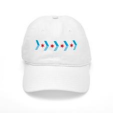 Arrow Chicago Flag Baseball Baseball Cap