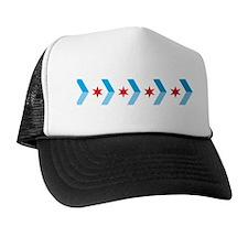Arrow Chicago Flag Trucker Hat