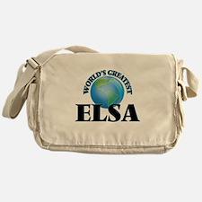 World's Greatest Elsa Messenger Bag