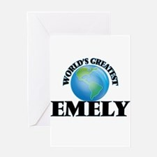 World's Greatest Emely Greeting Cards