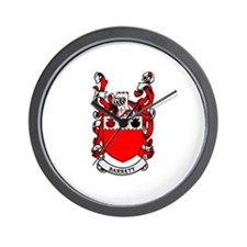 BARRETT Coat of Arms Wall Clock
