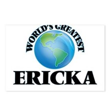 World's Greatest Ericka Postcards (Package of 8)