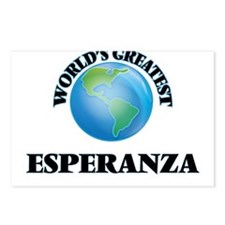 World's Greatest Esperanz Postcards (Package of 8)
