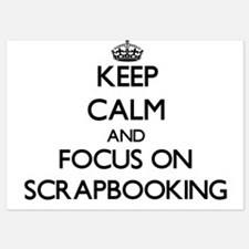 Keep Calm and focus on Scrapbooking Invitations