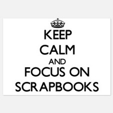 Keep Calm and focus on Scrapbooks Invitations