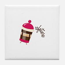 Cafetiere Tile Coaster