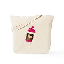 Pink Press Tote Bag