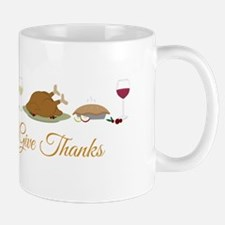 Give Thanks Mugs