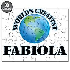 World's Greatest Fabiola Puzzle