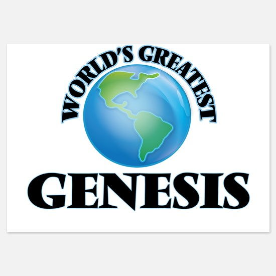 World's Greatest Genesis Invitations