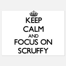 Keep Calm and focus on Scruffy Invitations