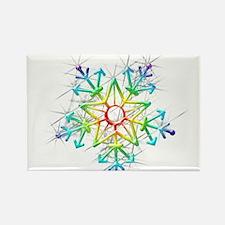 Snowflake Star Magnets
