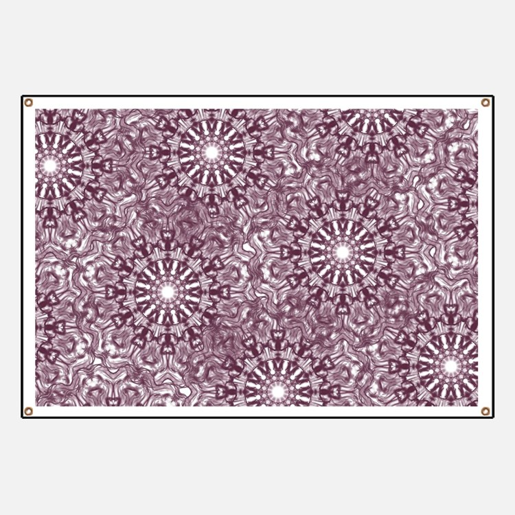 Purple Lace Banner