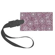 Purple Lace Luggage Tag