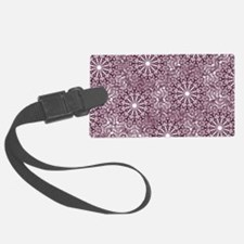 Purple Lace Luggage Tag