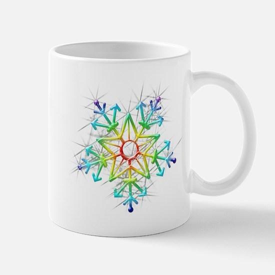 Snowflake Star Mugs