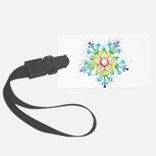 Snowflake Star Luggage Tag