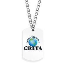 World's Greatest Greta Dog Tags