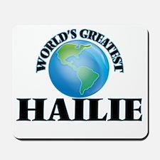 World's Greatest Hailie Mousepad