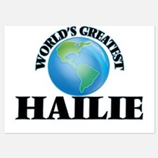 World's Greatest Hailie Invitations
