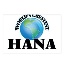 World's Greatest Hana Postcards (Package of 8)