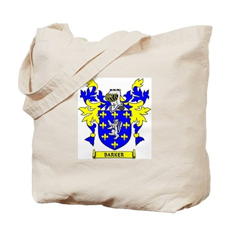 BARKER Coat of Arms Tote Bag