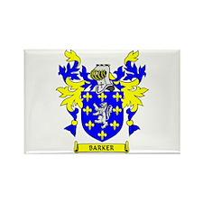 BARKER Coat of Arms Rectangle Magnet
