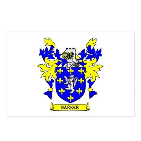 BARKER Coat of Arms Postcards (Package of 8)