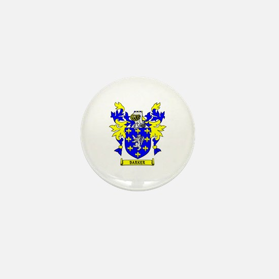 BARKER Coat of Arms Mini Button